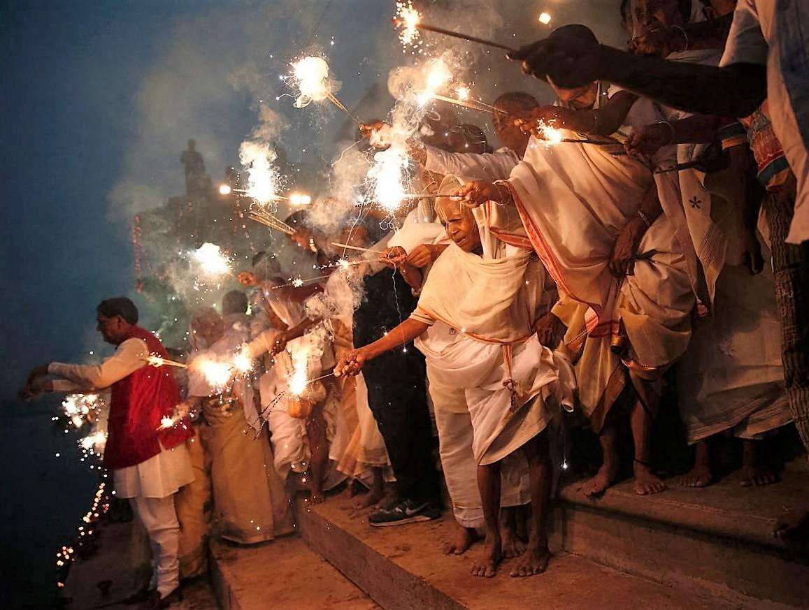 Diwali - festival -Varanassi