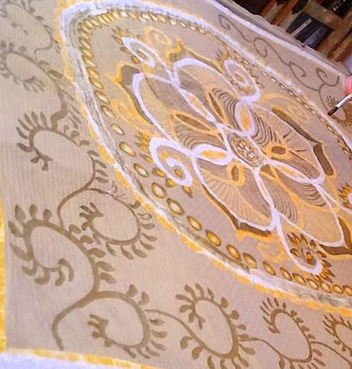 Batik Mandala.