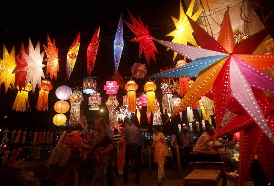 Diwali lanternas