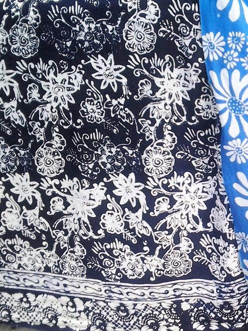 Batik Javanês Tjaps. 1 diaria.