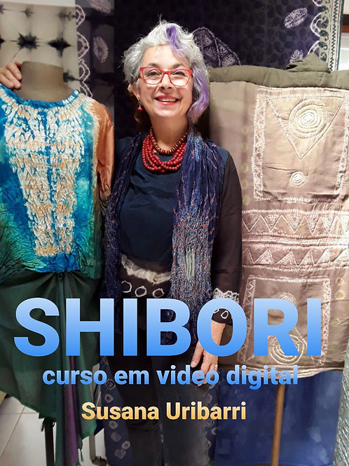 Vídeo Digital: Shibori -Técnicas com costura