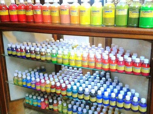 KIT de Aquarela Têxtil N° 1/46 - 46 cores 100 ml