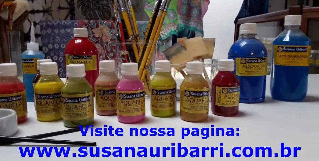 Aquarela Têxtil Universal Susana Uribarri