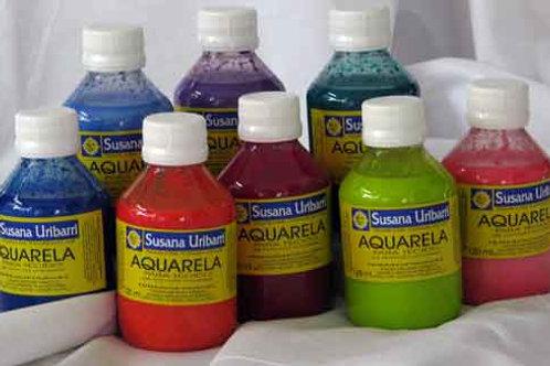Aquarela Têxtil N° 25/46 cores avulsas 100/500 ml.