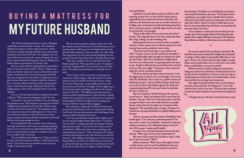 """Page Design - Excerpt from my """"Modern Love"""" thesis"""