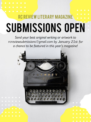 Flyer - RC Review Submissions