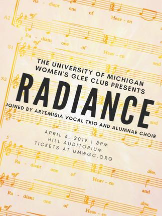 Poster - University of Michigan Women's Glee Club Winter Concert