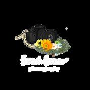 Beige Floral Natural Makeup Beauty Logo