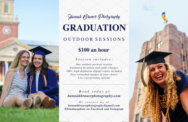 Flyer - Graduation Photos