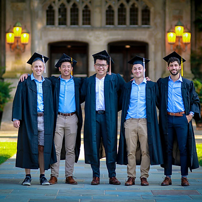 Raymond's Graduation Photos