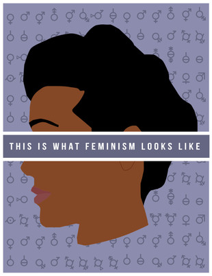 """Poster - """"Feminism"""" (for Women's March 2017)"""