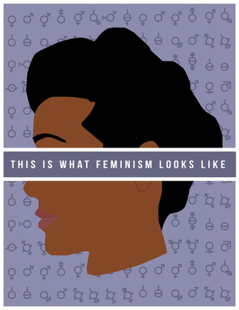 "Poster - ""Feminism"" (for Women's March 2017)"