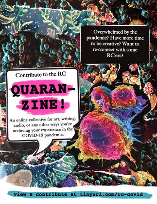 "Flyer - ""Quaran-Zine"" Art Collective"