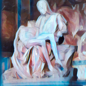 After Michelangelo's Pieta