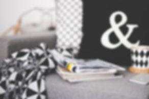 Magazines sur le divan
