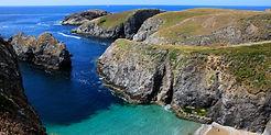 belle-ile-en-mer-plage_catamaran la roch