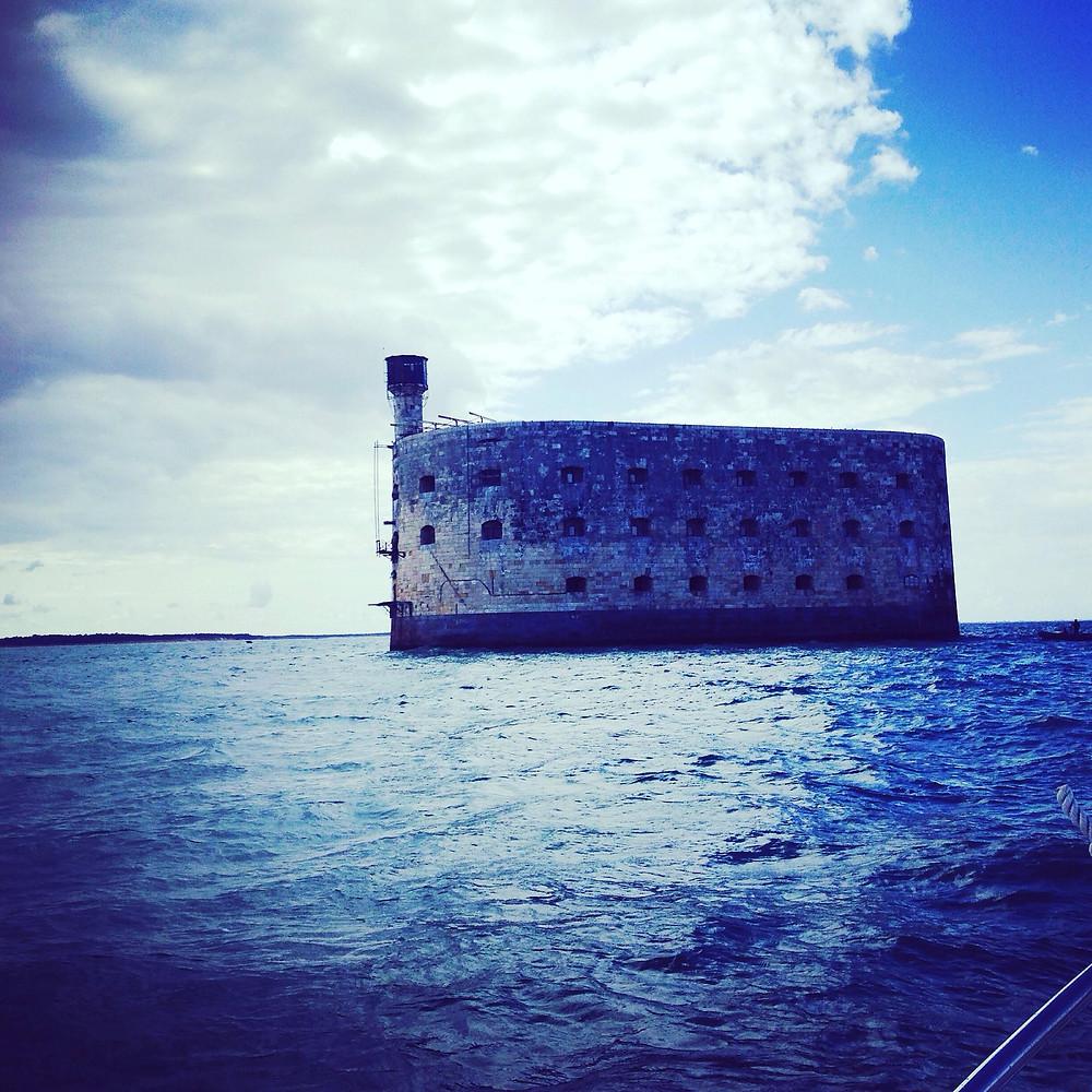 Balade en mer à Fort Boyard