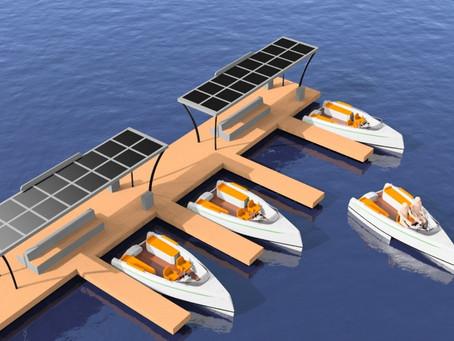 La Rochelle : Bientôt des bateaux électriques en libre service.