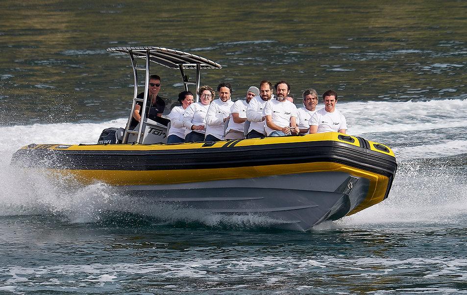 balade en mer la rochelle speedboat la r