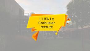 L'UFA Le Corbusier recrute