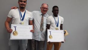Médailles d'or aux Régionales MAF 2021 !