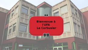 Bienvenue à l'UFA Le Corbusier !