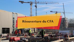 Réouverture du CFA