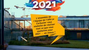 Nos meilleurs vœux pour l'année 2021 !