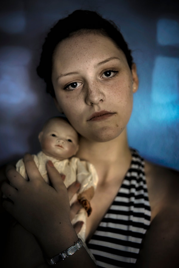 Sophia and My Mother's Doll.jpg