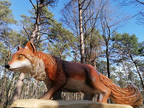 Sculptuur vos