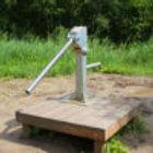 Waterpomp voor speelterreinen (exclusief houten platform)