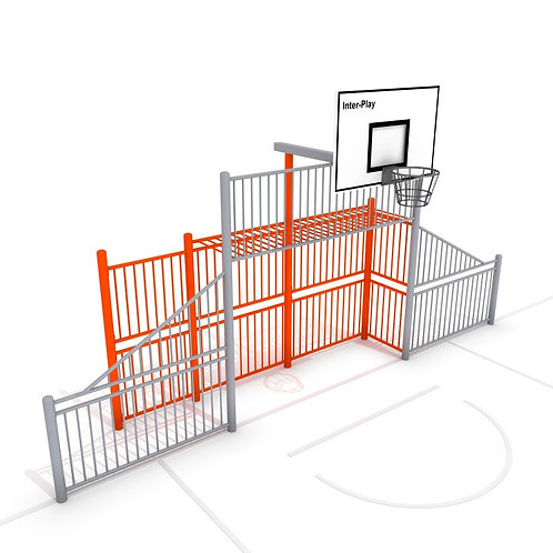 Voet- en basketbal wand M