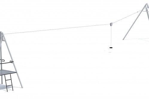 Aspen 20 m kabelbaan