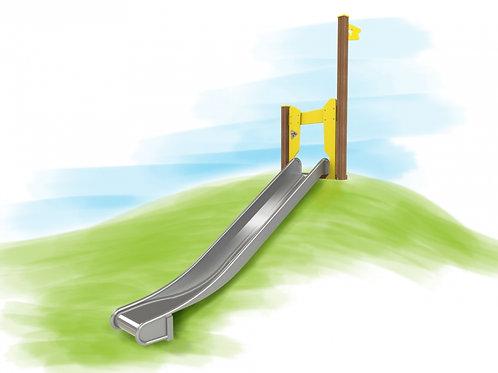 Heuvelglijbaan met platformhoogte 1.40m