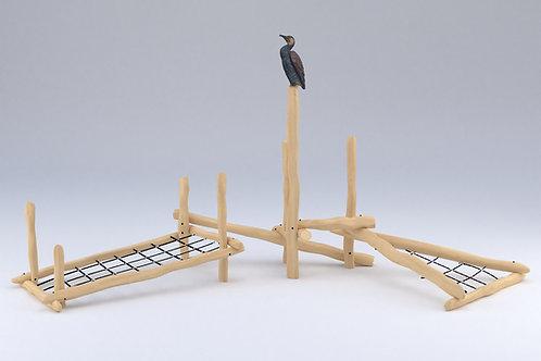 Mikado en speelnettencombinatie de aalschover robinia