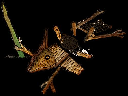 De kamchillamander