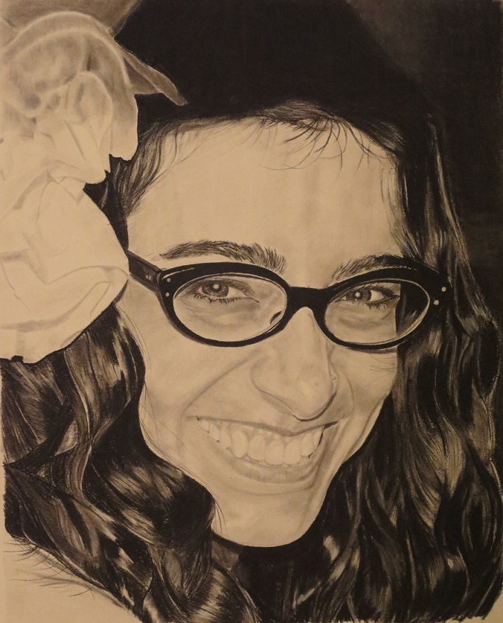 Lively - Pencil portrait