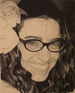 Lively - Pencil portrait