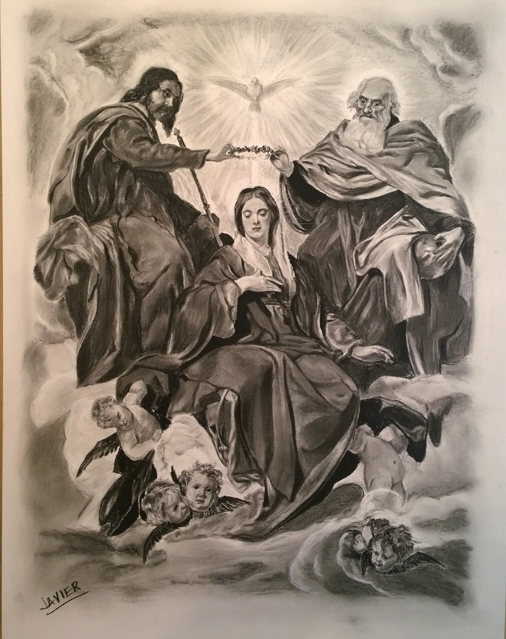 Coronation of our Blessed Mother