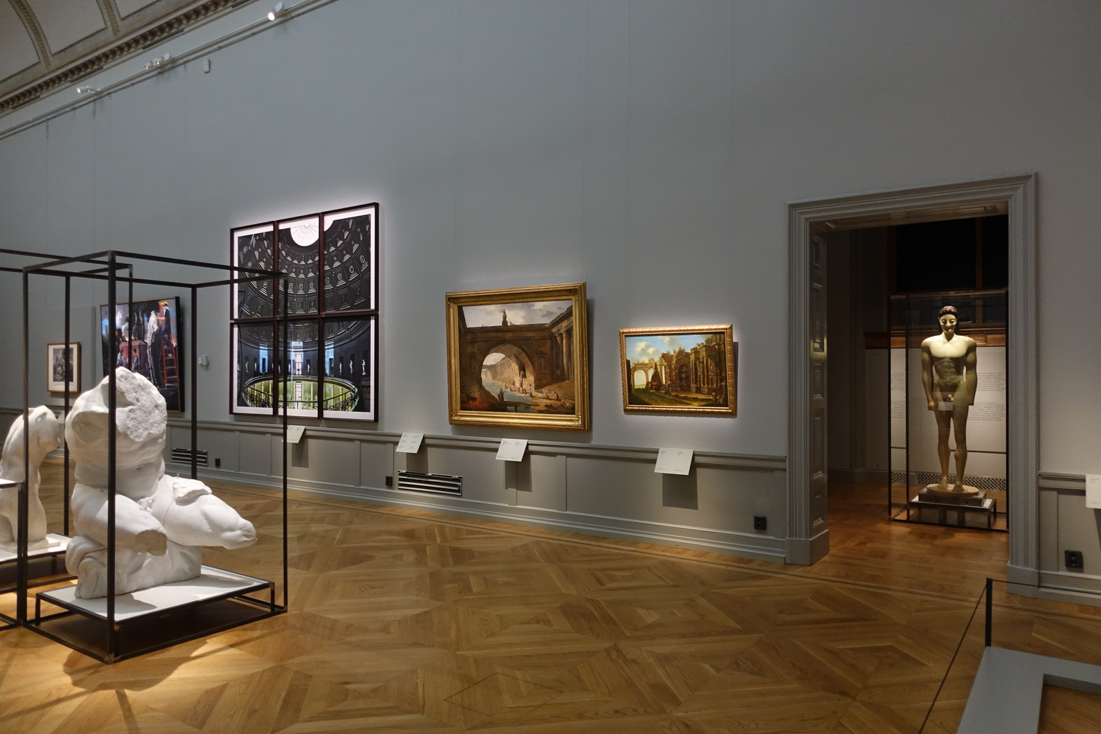 Installation view, Inspiration - Iconic works, Stockholm