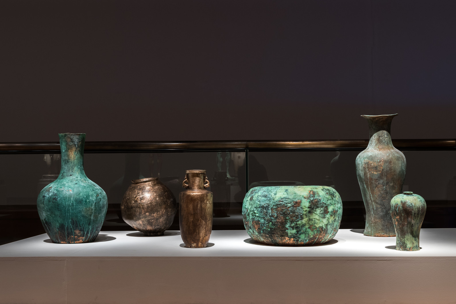 Installation view, Ancient Future, Wooyang Museum of Art