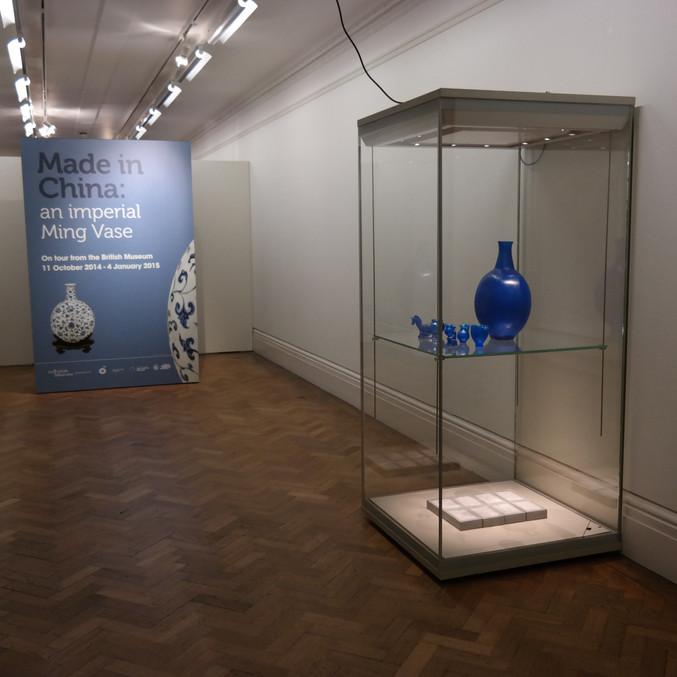 Installation view, Bristol Museum