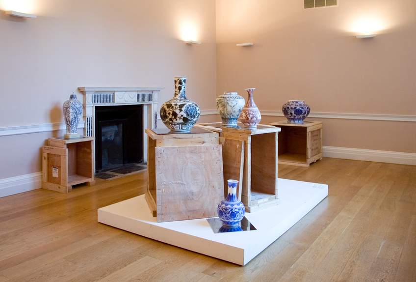 Installation view, Through the Looking Glass, Asia House
