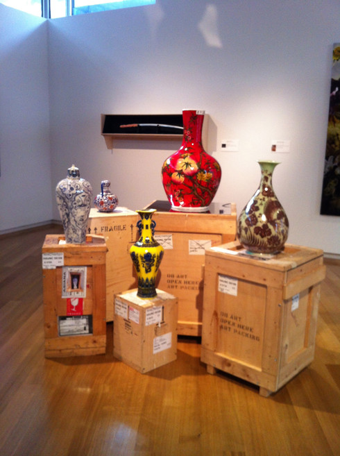 Installation view,Korean Eye: Energy and Matter, Museum of Art and Design, New York
