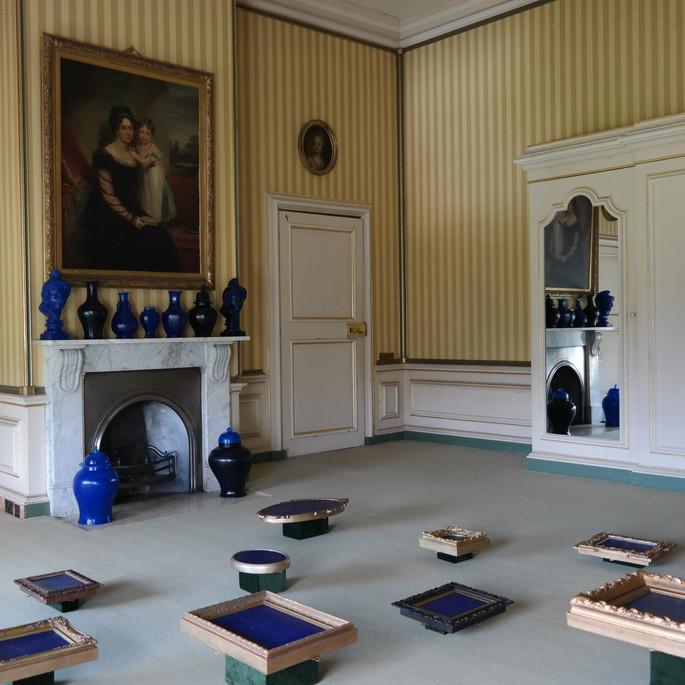 Installation view, Cabinet of Curiosities, Belton