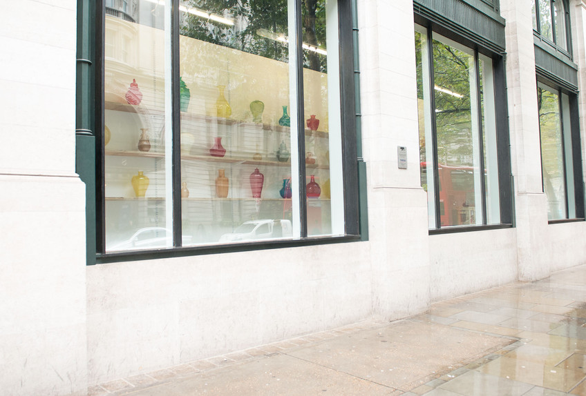 Installation view, Unfixed: A Solo Exhibition by Meekyoung Shin, KCCUK