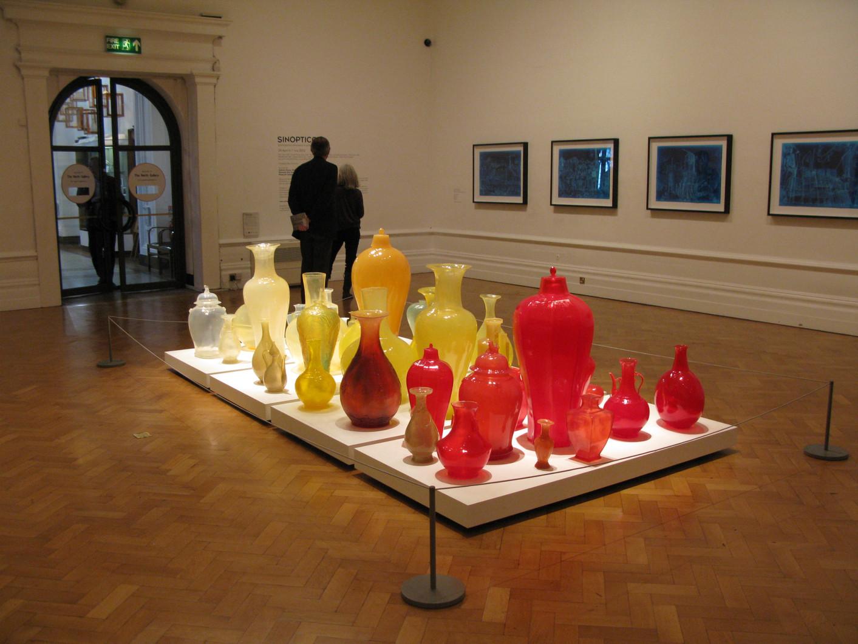Installationview, Synopticon- Contemporary,Plymouth Museum