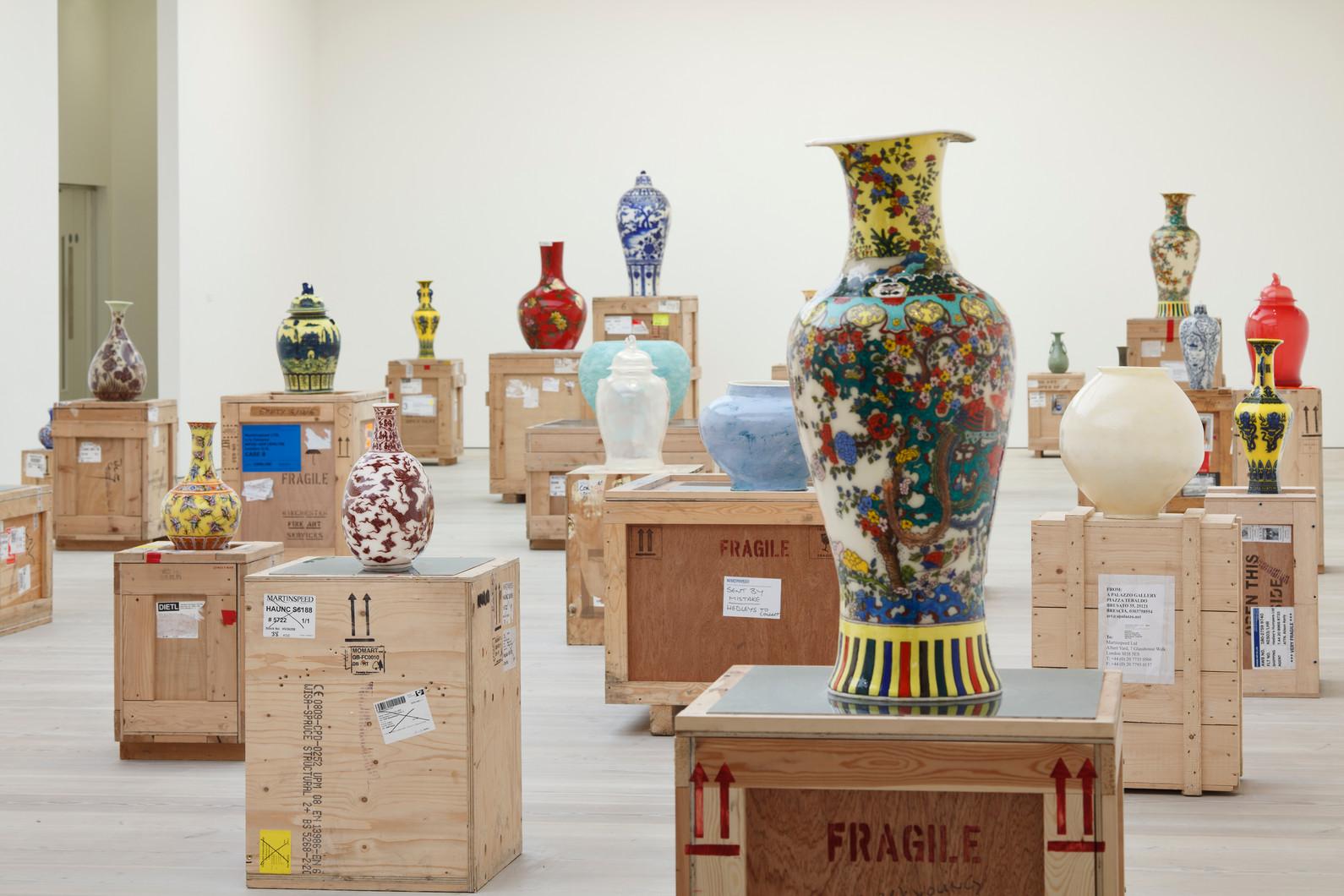 Installationview, Korean Eye, Saatchi Gallery