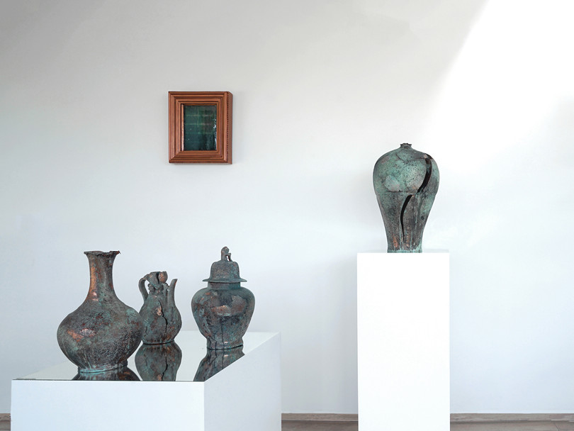 Installation view, In the Shadow of Time,ArtLoft