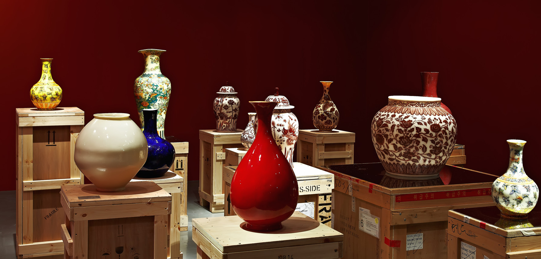 Installation view, Translation:The Epic Archive, National Museum of Modern and Contemporary Art